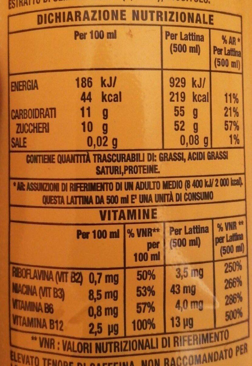 Caricamento… - Valori nutrizionali - it