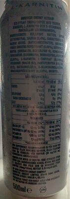 Monster Energy Ultra - Informations nutritionnelles - sv
