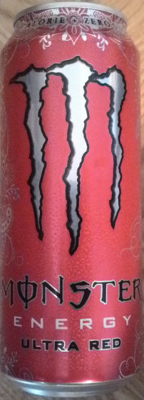 Monster Energy Ultra Red - Produit - sv
