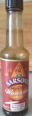 Sarson's Worcester Sauce - Produit