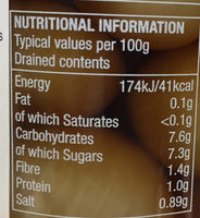 Traditional Onions - Nutrition facts - en
