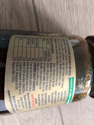 Original Sweet Pickle - Ingredients