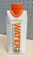 Vivid Water in a Box Orange & Peach - Produit