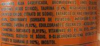 Monster-energy - Ingredientes