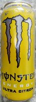 Monster Energy Ultra Citron - Produit - sv