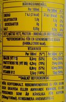 Monster Energy Ultra Citron - Nutrition facts