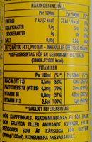 Monster Energy Ultra Citron - Informations nutritionnelles - sv