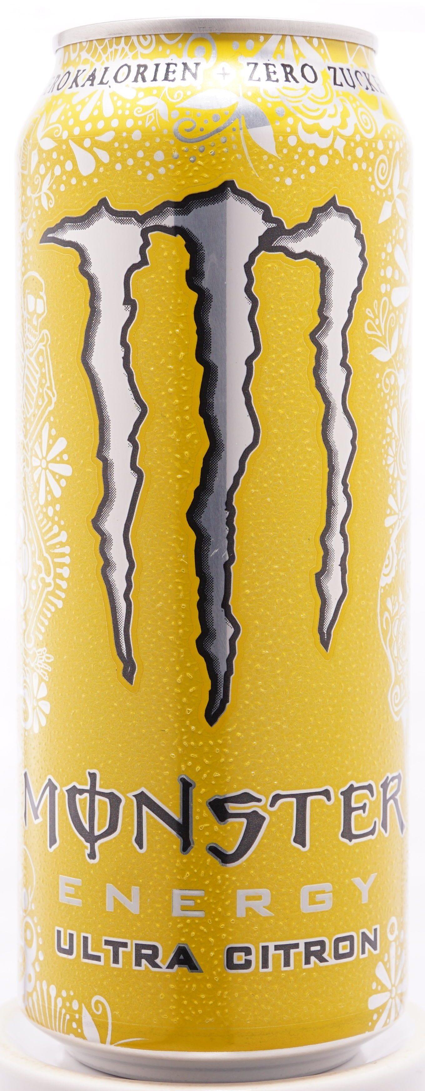 Monster Energy, Ultra Citron - Produkt - de