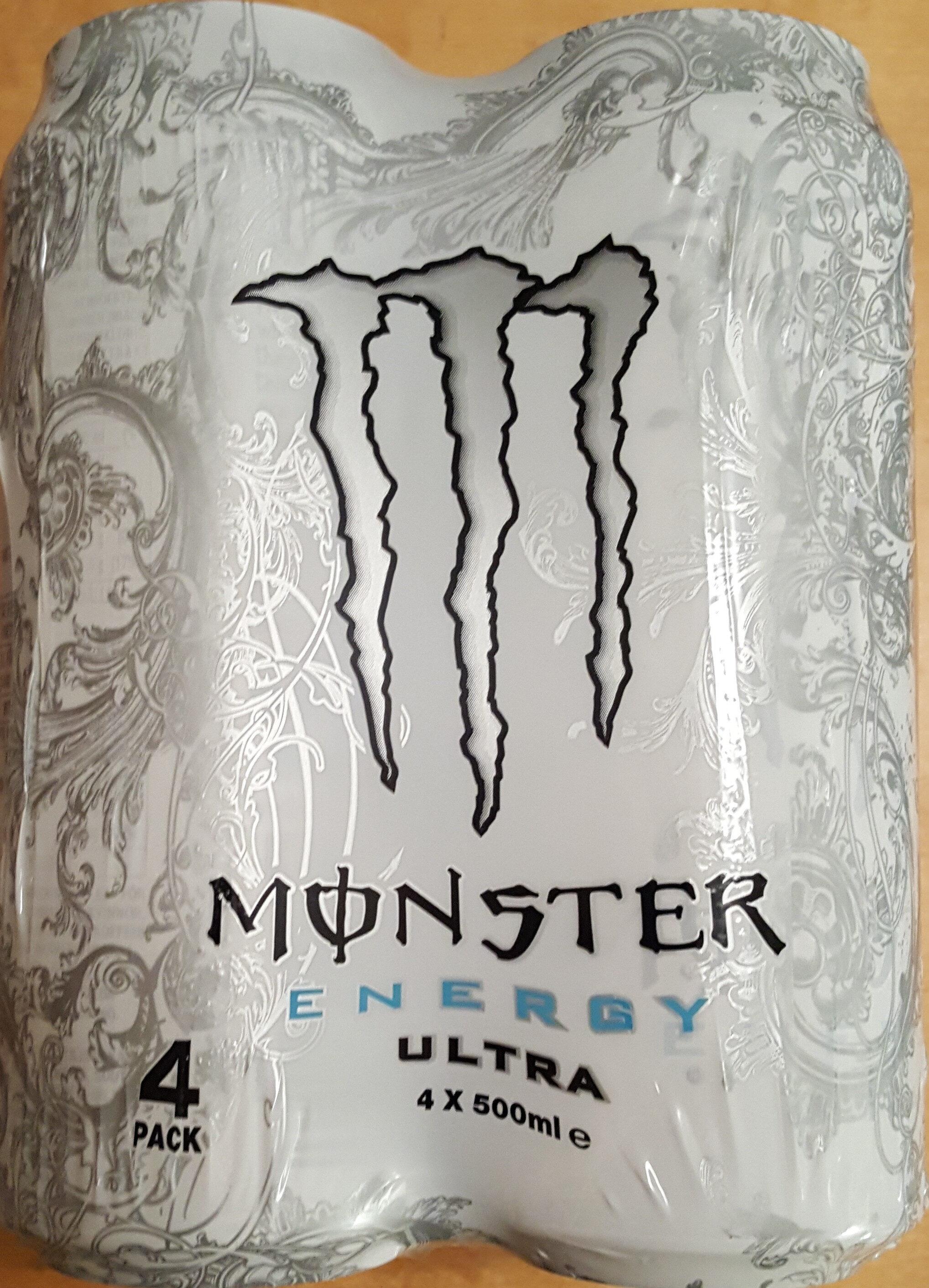 Monster Energy Ultra 4 Pack - Produit - sv