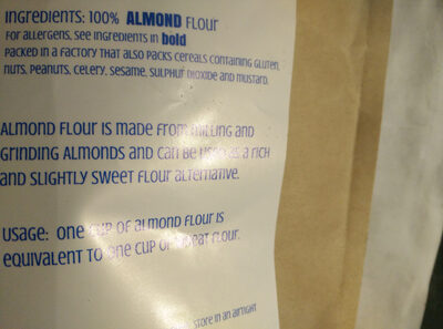 Almond flour - Ingrédients