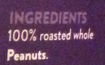 Roasted peanut butter - Ingredients