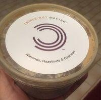 Triple Nut Butter, Almonds, Hazelnuts & Cashews - Produit - fr