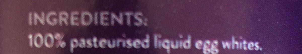 Blancs D'Œufs Liquides - Ingrediënten - fr