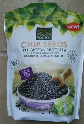New Chia Seeds High In Fibre, Source Of Protein 1 KG Value Pack - Product