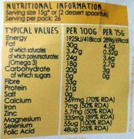 New Chia Seeds High In Fibre, Source Of Protein 1 KG Value Pack - Nutrition facts