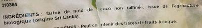 Farine coco - Ingrédients - fr