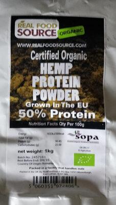 Organic Hemp Protein Powder - Product - en