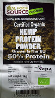 Organic Hemp Protein Powder - Ingredients - en