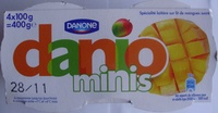 Danio minis (0 % MG) Mangue - Product