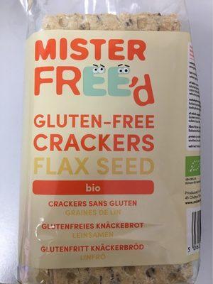 Crackers sans gluten graines de lin - Product - fr