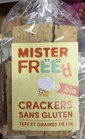 Crackers sans gluten Teff et Grains de Lin - Producto