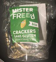 Crackers Sans Gluten Sésame et Graines de Chia - Product