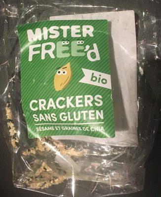 Crackers Sans Gluten Sésame et Graines de Chia - Produit