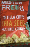 Tortilla chips chia seeds - Product