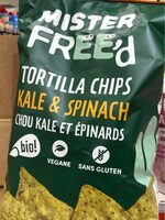 Tortilla Chips Chou Kale & Épinards - Product