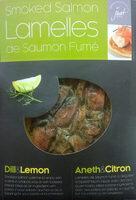 Lamelles de saumon fumé - Product - fr