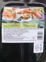 Pavés de Saumon Cru Façon Thaï - Produit - fr