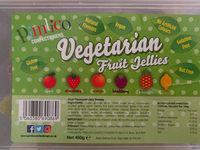 vegetarian fruit jellies - Produit