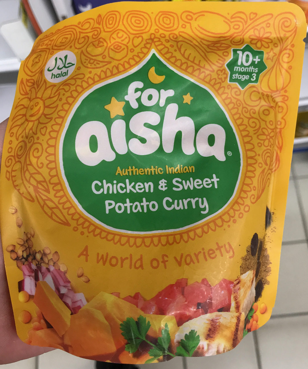 Authentic Indian Chicken & Sweet Potato Curry - Produit - fr