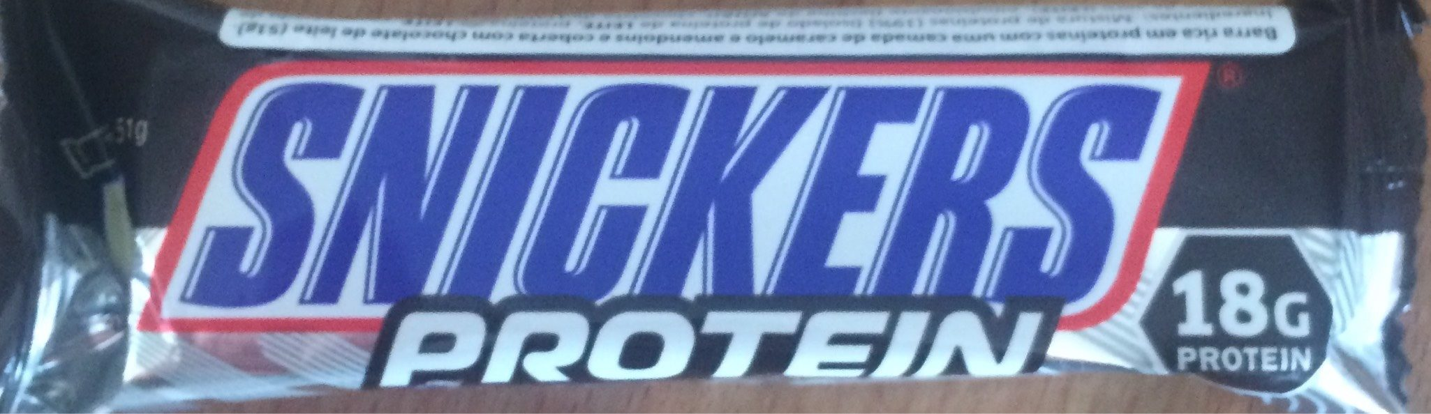 Snickers Protein - Produit - fr