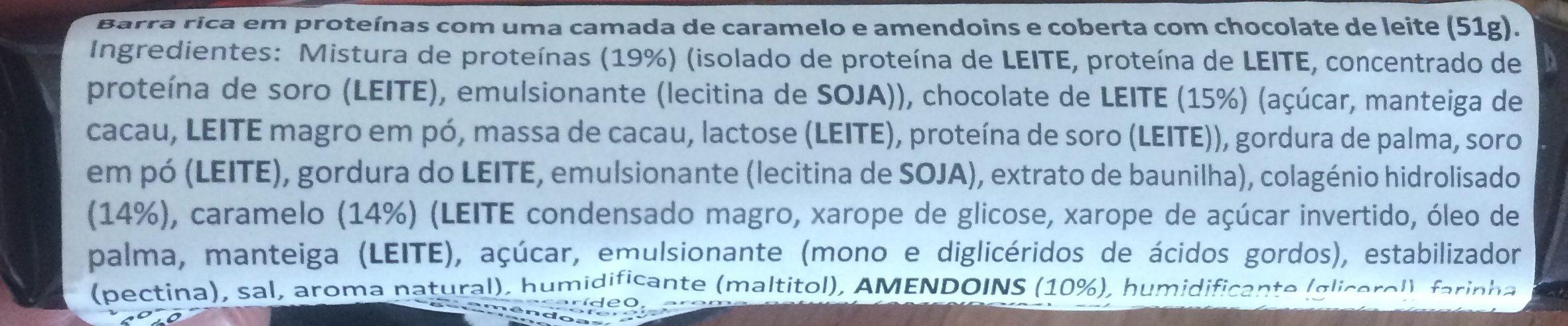 Snickers Protein - Ingrédients - fr