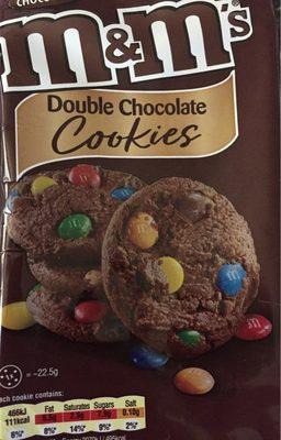 M &M Cookies 180G - Produit