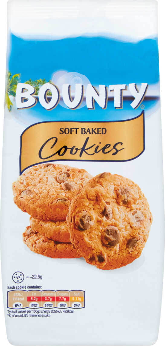 Soft Baked Cookies - Product - fr