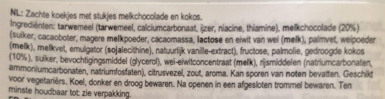 Soft Baked Cookies - Ingrediënten - nl