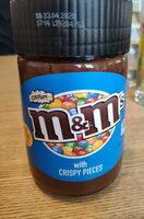 M&M's spread with crispy pieces - Produit - fr