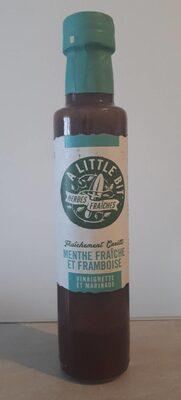 Vinaigrette et marinade - Menthe fraîche et framboise - 1