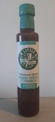 Vinaigrette et marinade - Menthe fraîche et framboise - Produit