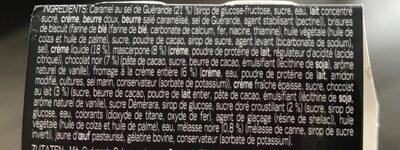 Precieux au caramel - Inhaltsstoffe - fr