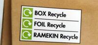 Chocolate & Vanilla Cheesecakes - Istruzioni per il riciclaggio e/o informazioni sull'imballaggio - en