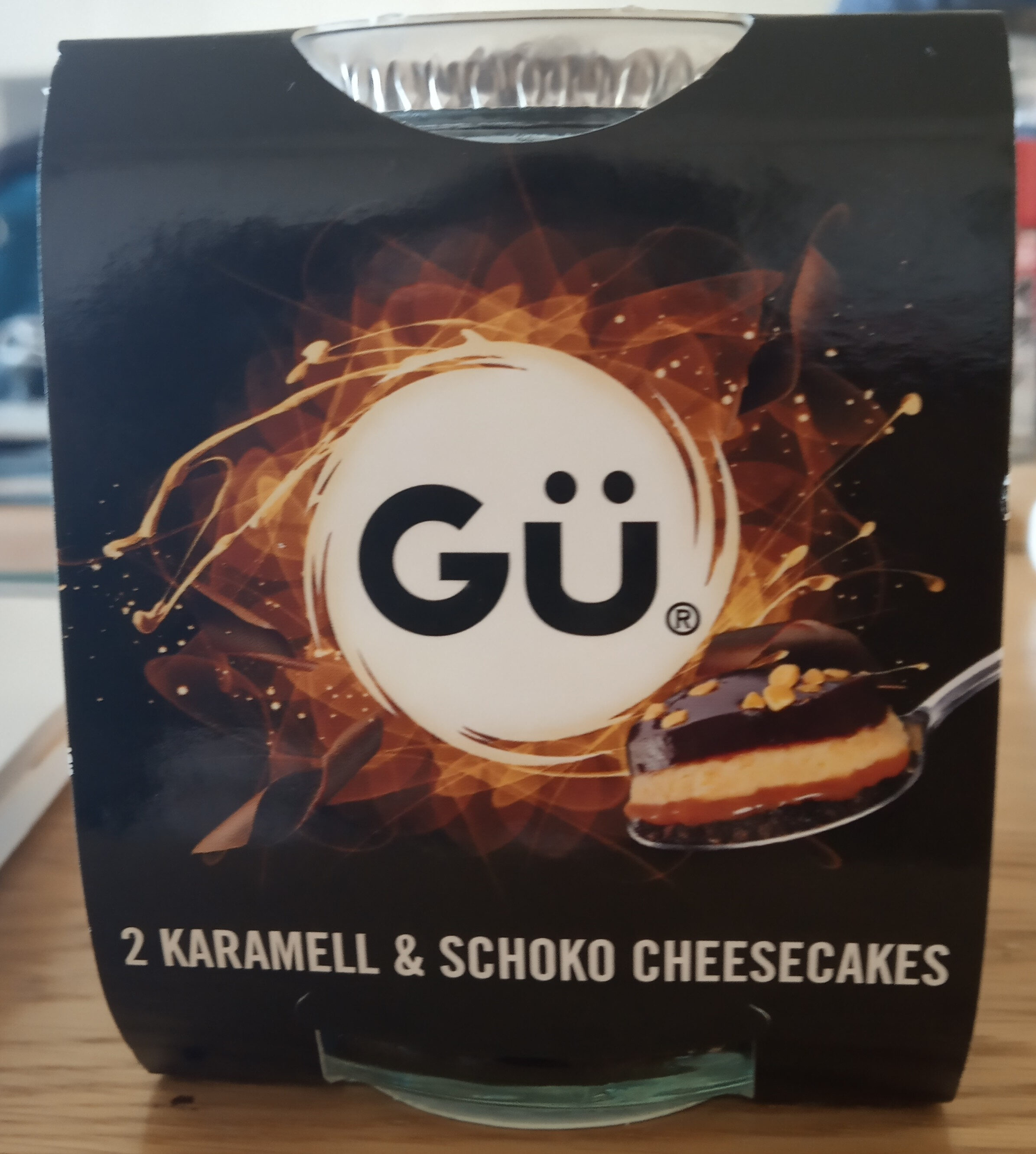 karamell & schoko cheesecakes - Product - fr