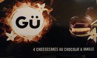 Cheesecakes au chocolat et vanille - Produit - fr