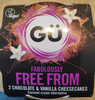 Fabulously FREE FROM Chocolate & Vanilla Cheesecakes - Product