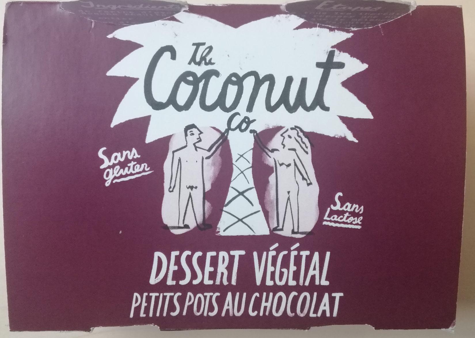 Dessert Végétal au Lait de coco au Chocolat - Product