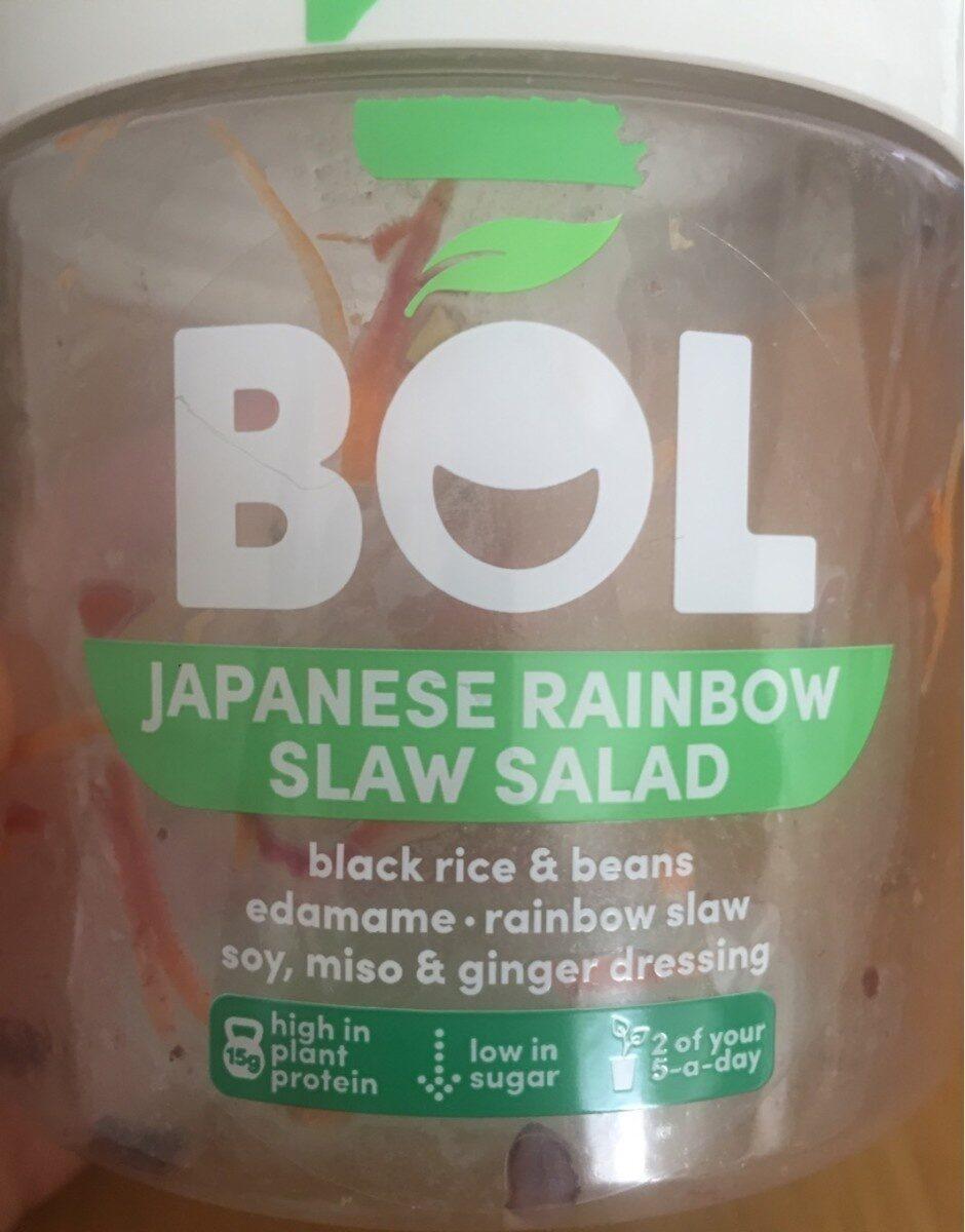 Japanese Rainbow Slaw salad - Product