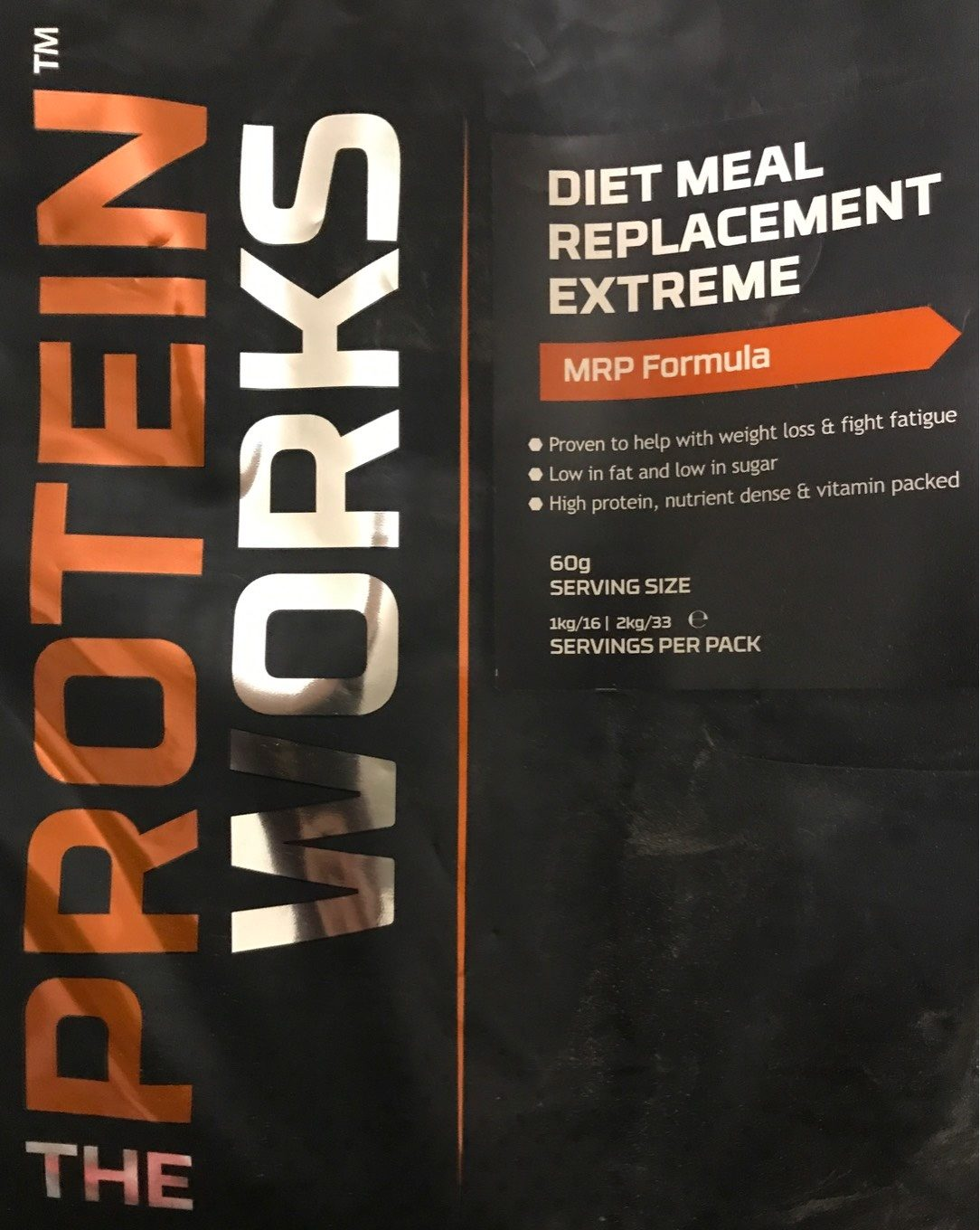 Diet Meal Replacement Extreme Chocolat Silk The Protein Works