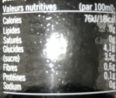 Wow - Informations nutritionnelles - fr